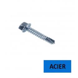 Vis autoperceuse TH DIN 7504 K acier zingué 4.8x22 BTE 500