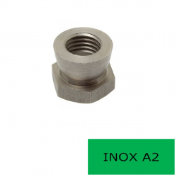 Ecrou inviolable Inox A2 M10 (Prix à l'unité)