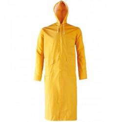Manteau de pluie PVC jaune